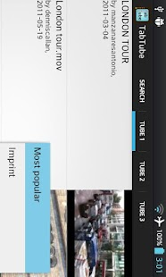 TabTube personal video player- screenshot thumbnail