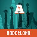 Barcelona guía mapa offline icon
