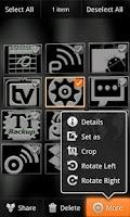 Screenshot of Orange Octane for CM7 (Donate)