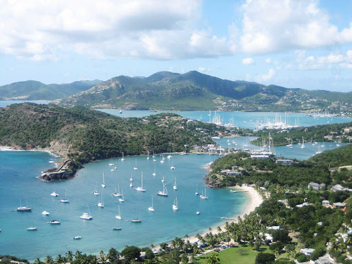 View from Shirley Heights in Antigua.