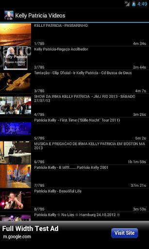 Kelly Patricia - Vídeos