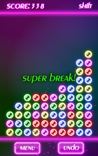 Bubble Breaker Neon- screenshot thumbnail