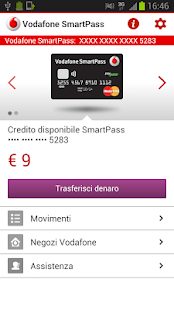 Vodafone SmartPass- screenshot thumbnail