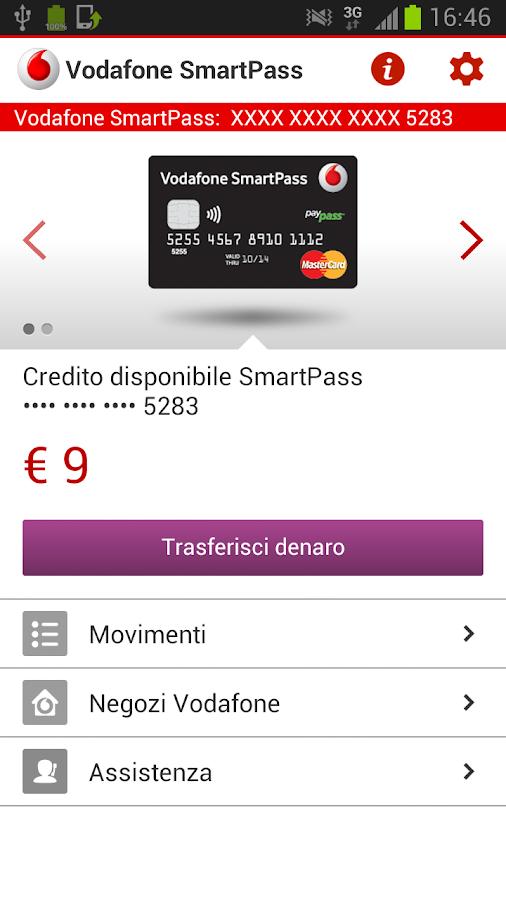 Vodafone SmartPass - screenshot