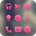 Pink Go Apex Nova Icon Theme