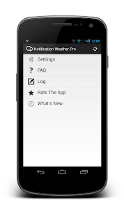 Notification Weather Premium - screenshot thumbnail
