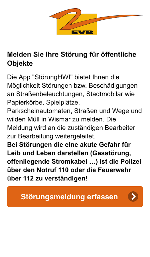 Störung Wismar- screenshot