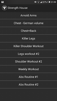 Fitness Trainer : GYM Workouts - screenshot