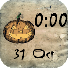 Halloween Clock Widget icon