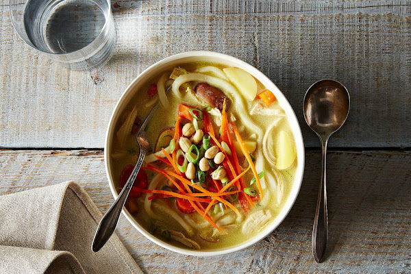 Warm your tummy with a remixed soup staple.