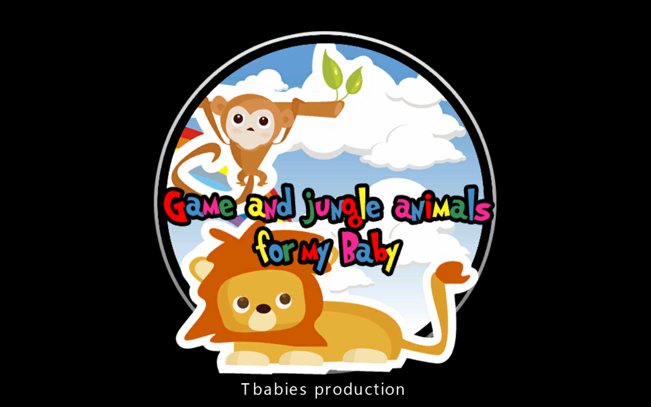 game jungle animal for babies - screenshot