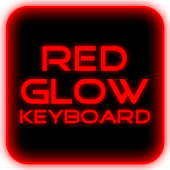 Red Glow Keyboard Skin Pro