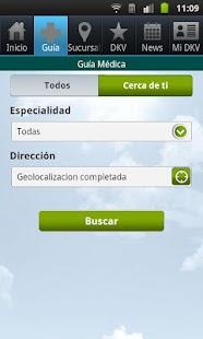 Guía de Médicos. DKV Seguros.- screenshot thumbnail