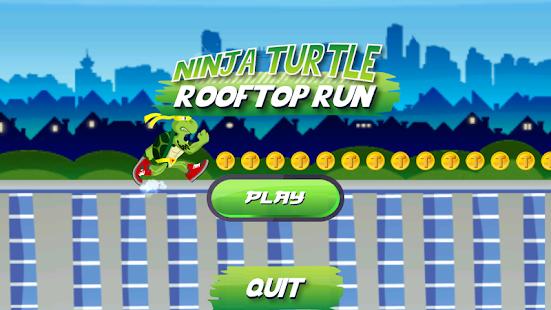 Ninja Turtle Rooftop Run