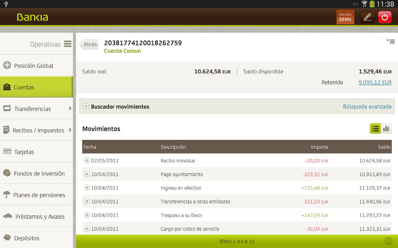 Bankia tablet android apps on google play for Bankia cajero mas cercano