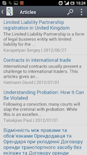 JurFinder lawyers & attorneys - screenshot thumbnail