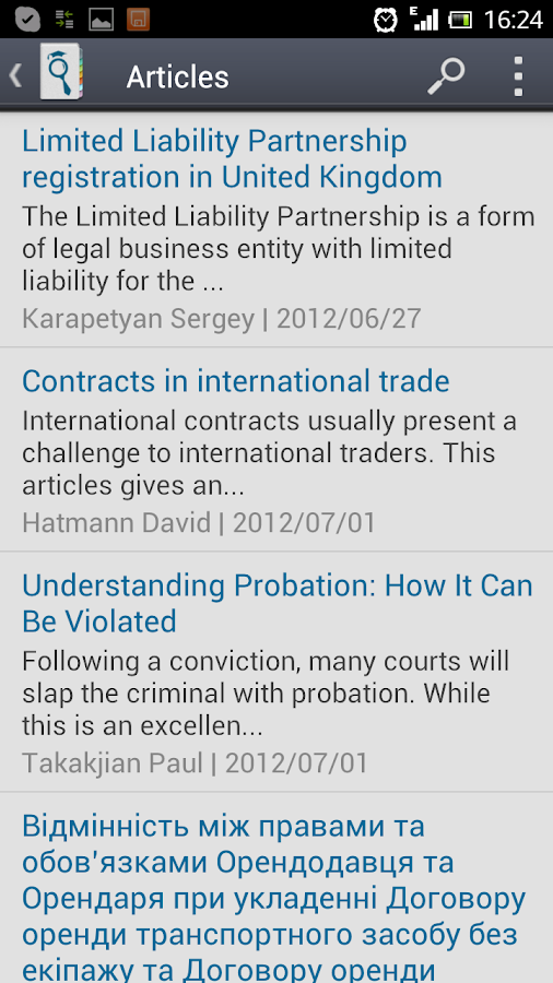 JurFinder lawyers & attorneys - screenshot