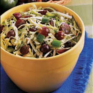 Grape and Cabbage Salad.