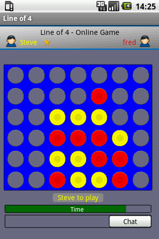 Line of 4 - Free - screenshot
