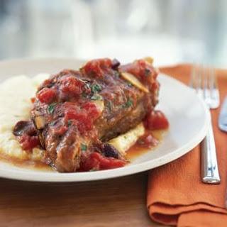 Italian-Style Braised Lamb Shanks