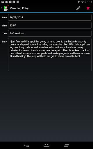 【免費生產應用App】Exercise Log-APP點子