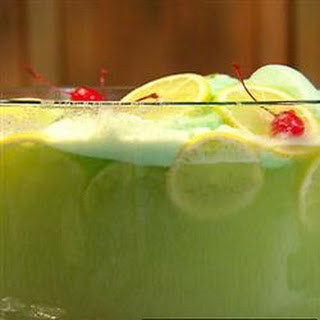 Lime Sherbet Punch.
