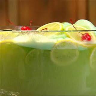 Lime Sherbet Punch.