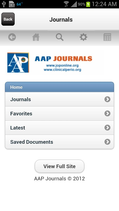 AAP Mobile - screenshot