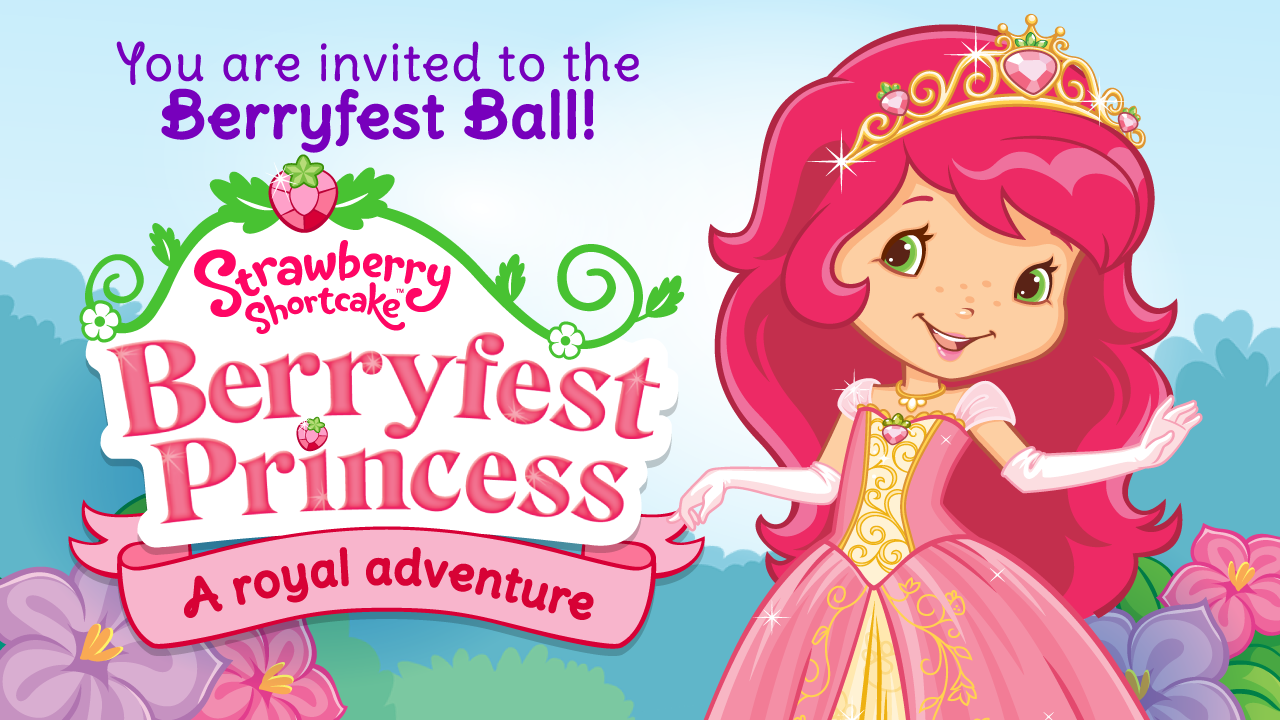 Strawberry Shortcake Princess - screenshot