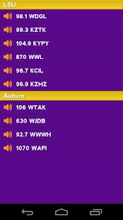 LSU Radio & Live Scores