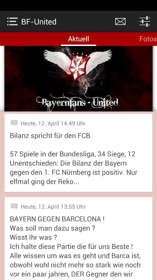 Bayernfans-United (BF-United) - screenshot
