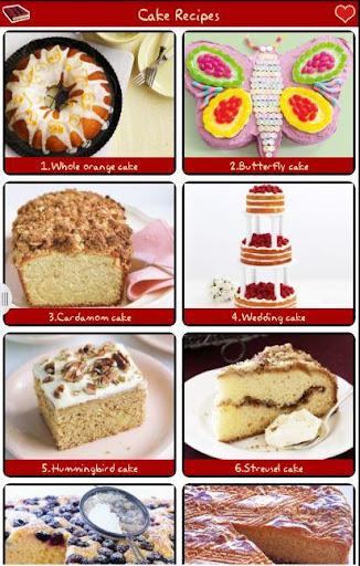ケーキのレシピFREE!