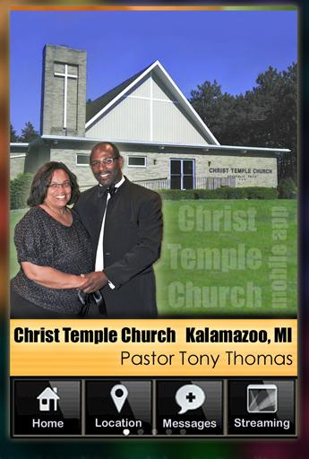 Pastor Tony Thomas Mobile App