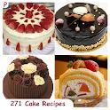 271 Cake Recipes icon