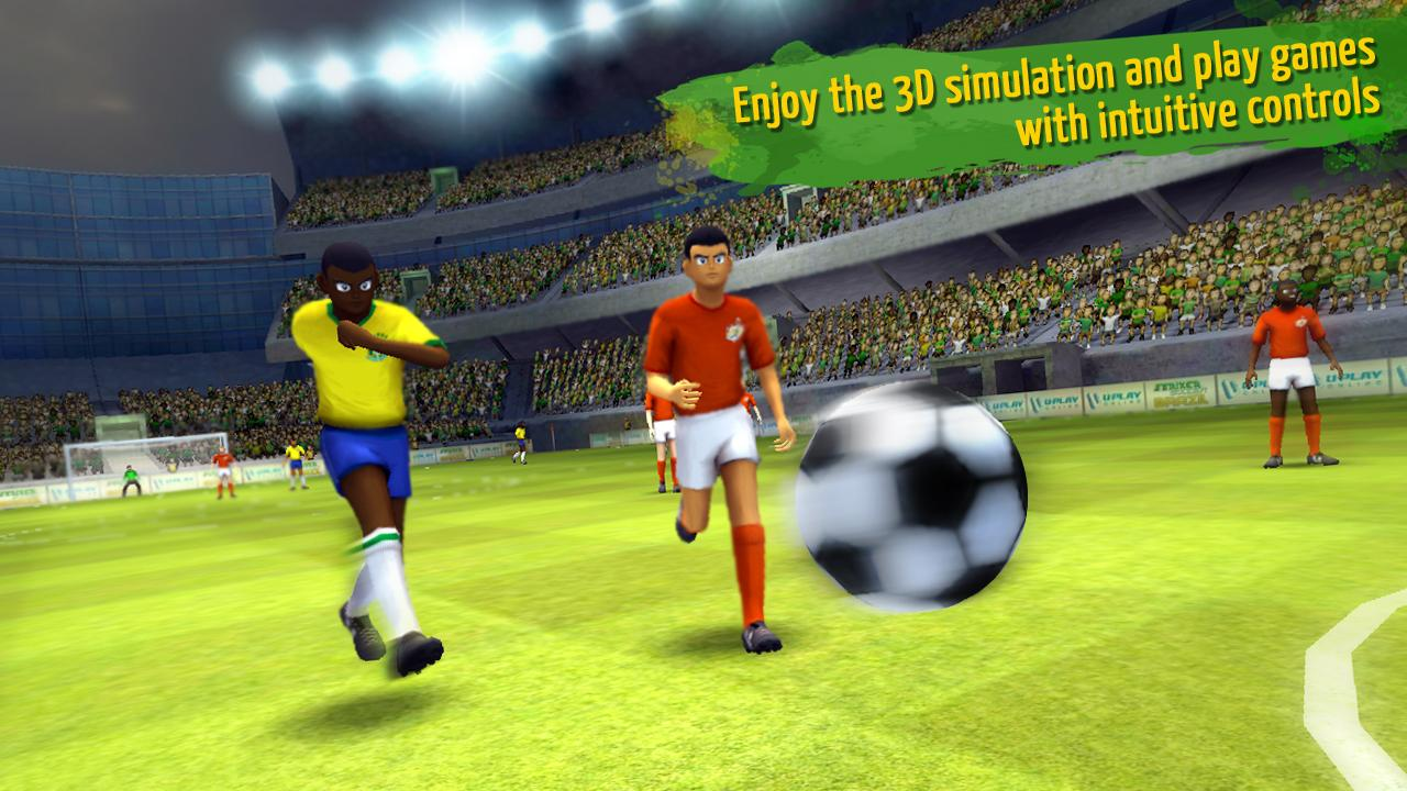 Striker Soccer Brazil- screenshot
