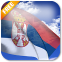 3D Serbia Flag Live Wallpaper icon