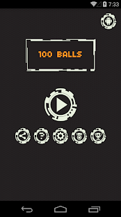 100 balls- screenshot thumbnail