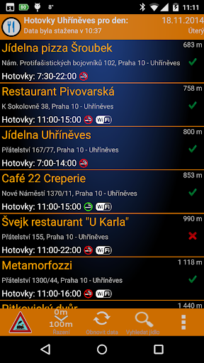Hotovky Uhříněves
