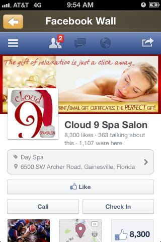 Cloud 9 spa android apps on google play for Cloud 9 salon dehradun