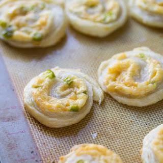 Jalapeno & Smoked Gouda Puff Pastry Pinwheels