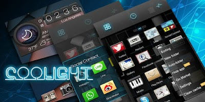Screenshot of Coolight GO Launcher Theme