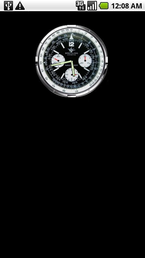 Breitling Clock Widget - screenshot