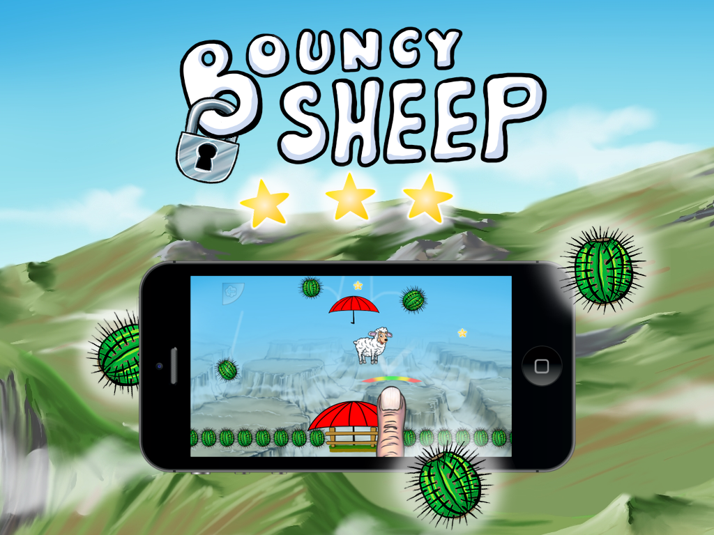 Bouncy sheep - The Saga Begins- screenshot