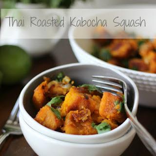 Thai Roasted Kabocha Squash