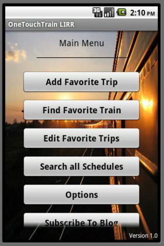 OneTouchTrain - LIRR- screenshot