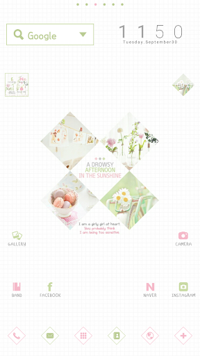 Afternoon dodol launcher theme
