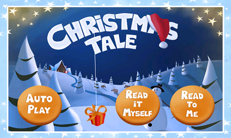 Christmas Tale: kids Storybook - screenshot
