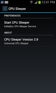 CPU Sleeper 4.0 Universal - screenshot thumbnail