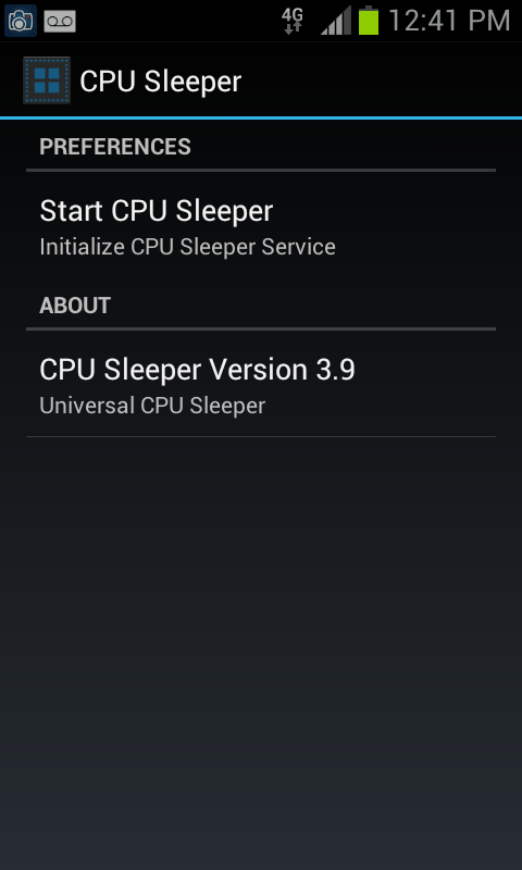 CPU Sleeper 4.0.2 Universal - screenshot