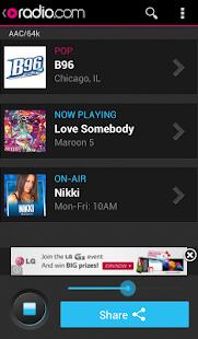 Radio.com - screenshot thumbnail